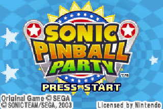 Screenshot Thumbnail / Media File 1 for Sonic Pinball Party (U)(Venom)