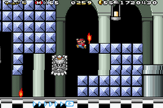 Screenshot Thumbnail / Media File 1 for Super Mario Advance 4 - Super Mario Bros 3 (U)(Independent)