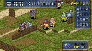 Screenshot Thumbnail / Media File 1 for Onimusha Tactics (U)(Mode7)