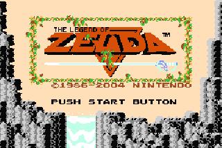 Screenshot Thumbnail / Media File 1 for Classic Nes - The Legend of Zelda (U)(TrashMan)
