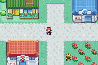 Screenshot Thumbnail / Media File 1 for Pokemon Leaf Green (U)(Independent)