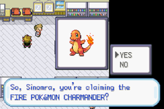 Screenshot Thumbnail / Media File 1 for Pokemon Fire Red (U)(Independent)