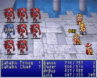 Screenshot Thumbnail / Media File 1 for Final Fantasy I & II - Dawn of Souls (U)(Independent)
