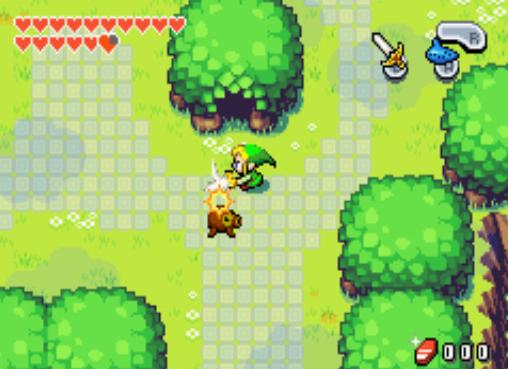 Zelda Minish Cap Cheats