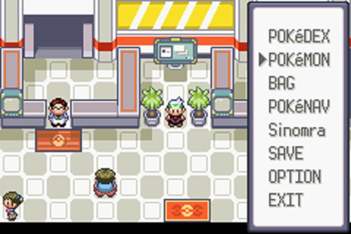 Pokemon Emerald .Gba