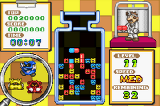 Screenshot Thumbnail / Media File 1 for Dr. Mario & Puzzle League (E)(Rising Sun)