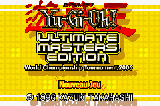 Screenshot Thumbnail / Media File 1 for Yu-Gi-Oh! Ultimate Masters 2006 (E)(Rising Sun)