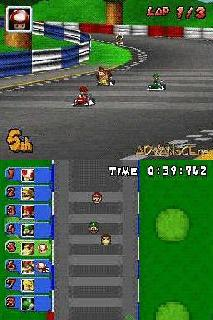 Screenshot Thumbnail / Media File 1 for Mario Kart DS (E)(Spliff)