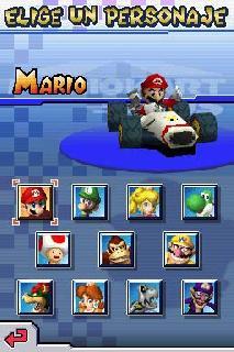 Screenshot Thumbnail / Media File 1 for Mario Kart DS (E)(Spliff)