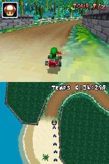Screenshot Thumbnail / Media File 1 for Mario Kart DS (J)(Mode 7)