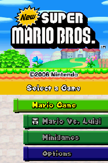 Screenshot Thumbnail / Media File 1 for New Super Mario Bros. (U)(Psyfer)