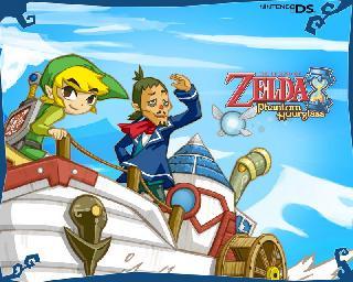Screenshot Thumbnail / Media File 1 for Legend of Zelda - Phantom Hourglass, The (U)(Independent)