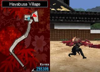 Screenshot Thumbnail / Media File 1 for Ninja Gaiden Dragon Sword (U)(XenoPhobia)