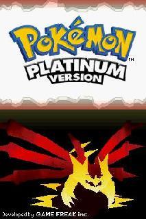 Screenshot Thumbnail / Media File 1 for Pokemon Platinum Version (US)(XenoPhobia)