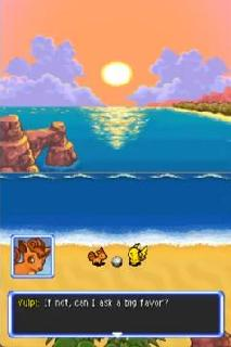 Screenshot Thumbnail / Media File 1 for Pokemon Mystery Dungeon - Explorers of Sky (US)(XenoPhobia)