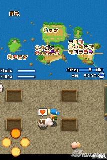 Screenshot Thumbnail / Media File 1 for Harvest Moon DS - Sunshine Islands (US)(OneUp)
