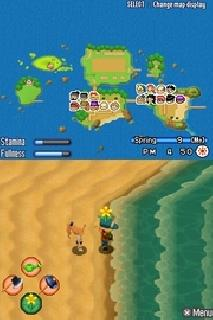 Screenshot Thumbnail / Media File 1 for Harvest Moon DS - Sunshine Islands (US)(OneUp)