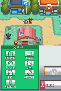 Screenshot Thumbnail / Media File 1 for Pokemon - HeartGold Version (U)