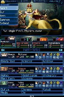 Screenshot Thumbnail / Media File 1 for Shin Megami Tensei - Strange Journey (U)