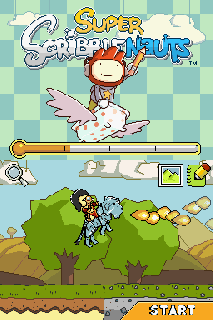 Screenshot Thumbnail / Media File 1 for Super Scribblenauts (USA) (256Mbit)