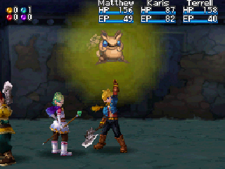 Screenshot Thumbnail / Media File 1 for Golden Sun - Dark Dawn (U)