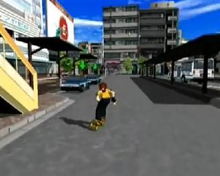 Screenshot Thumbnail / Media File 1 for Jet Set Radio (PAL)