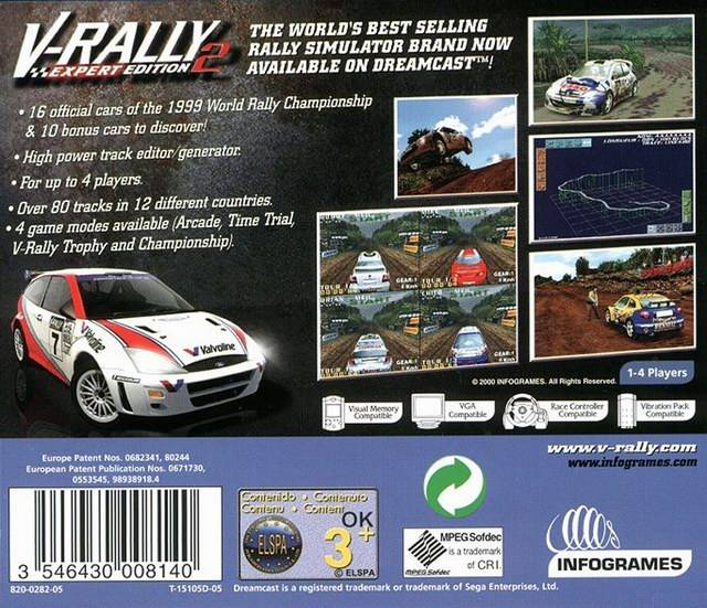 V rally 2 Iso psx download For psp