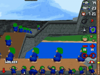 Screenshot Thumbnail / Media File 1 for 3D Lemmings (E)
