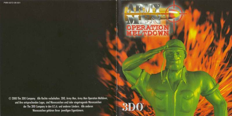 Army Men: Operation Meltdown - 2000(1)