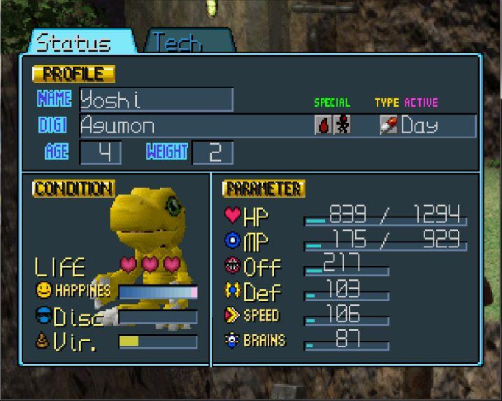Digimon iso