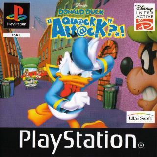 Screenshot Thumbnail / Media File 1 for Disney's Donald Duck - Quack Attack (E) (En,Fr,De,It)