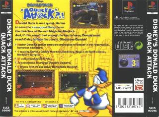 Screenshot Thumbnail / Media File 1 for Disney's Donald Duck - Quack Attack (E) (En,Fr,De,It)