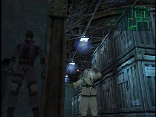 Screenshot Thumbnail / Media File 1 for Metal Gear Solid (E) (Disc 1)