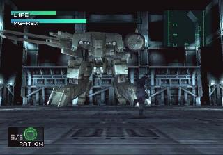 Screenshot Thumbnail / Media File 1 for Metal Gear Solid (E) (Disc 2)
