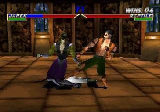 Screenshot Thumbnail / Media File 1 for Mortal Kombat 4 (E)