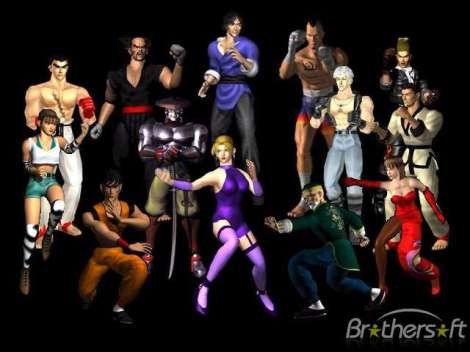 Screenshot thumbnail media file 7 for tekken 3 e