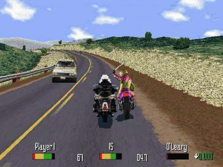 Screenshot thumbnail media file 2 for road rash e