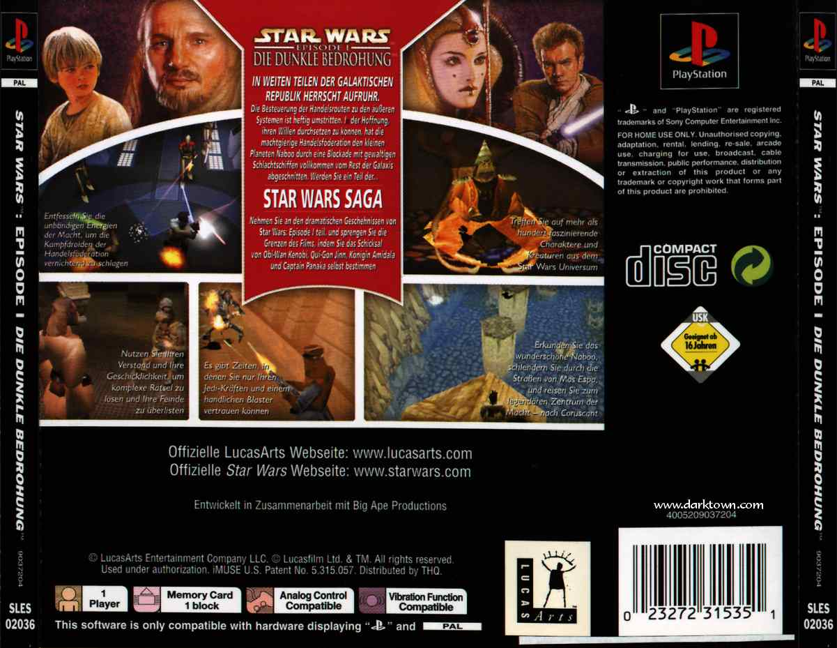 Media file 1 for star wars episode i die dunkle bedrohung g