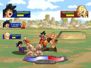 Screenshot Thumbnail / Media File 1 for Dragon Ball Z - Idainaru Dragon Ball Densetsu (Japan)