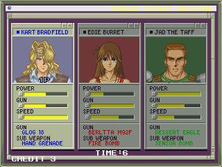 Screenshot Thumbnail / Media File 1 for Elevator Action Returns (J)