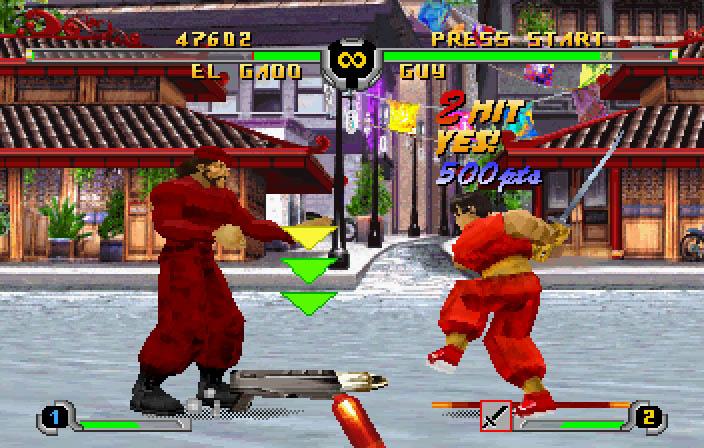 Screenshot Thumbnail / Media File 4 for Final Fight Revenge (J)