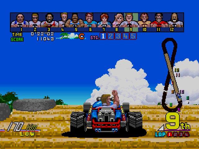 Sega Ages Power Drift (J) ISO