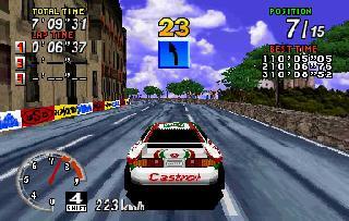 Screenshot Thumbnail / Media File 1 for Sega Rally Championship Plus (J)