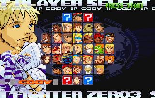 Screenshot Thumbnail / Media File 1 for Street Fighter Zero 3 (J)