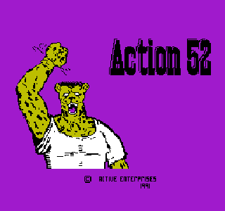 Screenshot Thumbnail / Media File 1 for Action 52 (USA) (Unl)