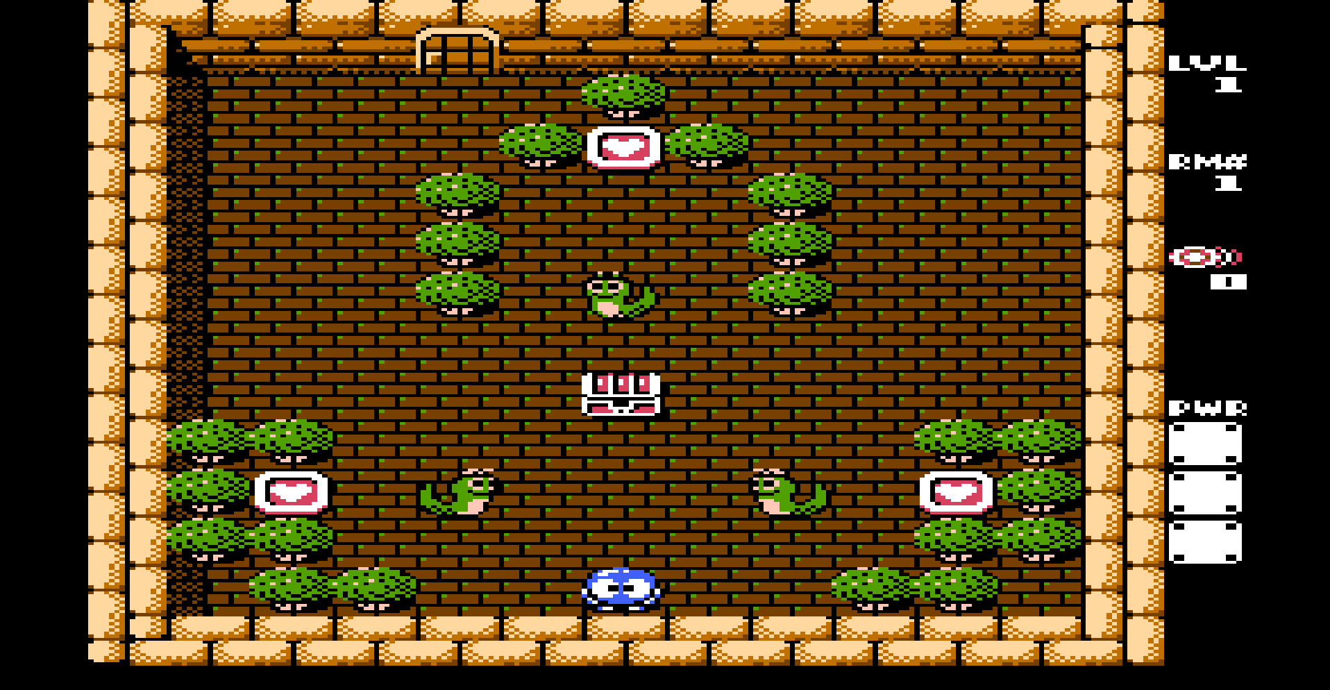 Screenshot Thumbnail / Media File 1 for Adventures of Lolo 3 (Europe)