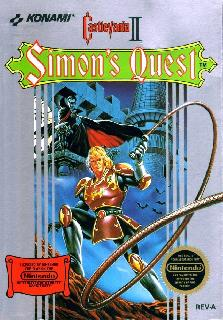 Screenshot Thumbnail / Media File 1 for Castlevania II - Simon's Quest (USA)