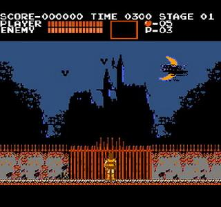 Screenshot Thumbnail / Media File 1 for Castlevania (USA)