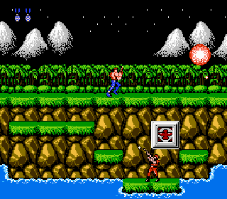 Screenshot Thumbnail / Media File 1 for Contra (USA)