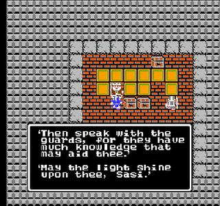 Screenshot Thumbnail / Media File 1 for Dragon Warrior (USA)
